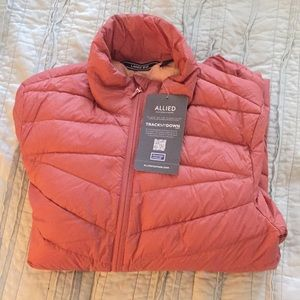 NWT Lands End down jacket